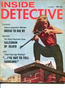 INSIDE DETECTIVE-NOV 1966-G-SPICY-MURDER-KIDNAP-SNIPER-RAPE G