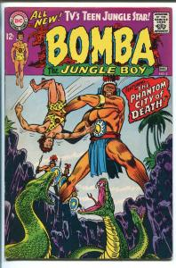 BOMBA THE JUNGLE BOY #2 1967-DC COMICS-SNAKE-PHANTOM CITY OF DEATH-vf-