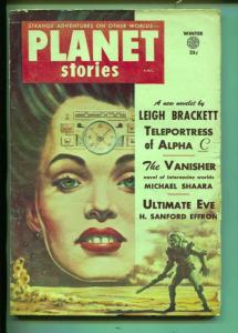 Planet Stories-Pulp-Winter-1954-Leigh Brackett-Michael Sheara