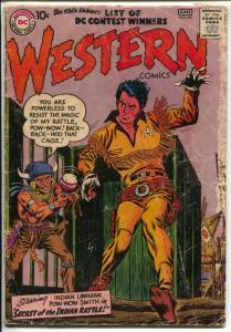 Western #63 1957 DC-Pow-Wow Smith-Wyoming Kid-G-
