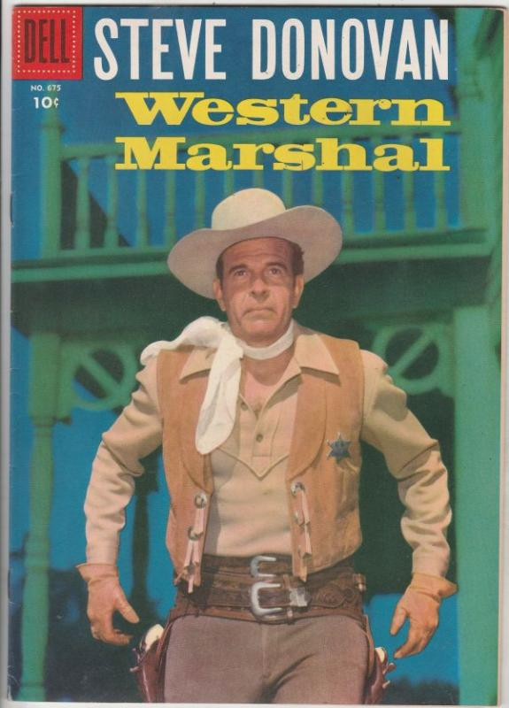 Four Color #675 (May-56) VF High-Grade Steve Donovan Western Marshal