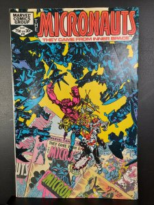 Micronauts #39 (1982)