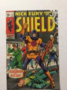 Nick Fury 15 Agent Of Shield Vf Very Fine 8.0