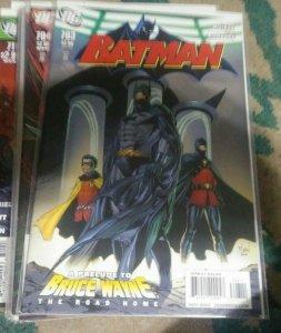 Batman #703 2010 dc   dick grayson damien  bruce wayne the road home prelude