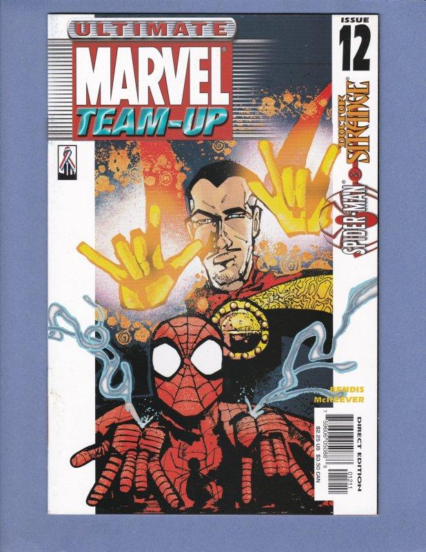Ultimate Marvel Team-Up Lot #3 #4 #5 #7 #8 #11 #12 #16 Spider-Man Hulk Iron Man