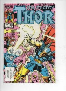THOR #339 VF God of Thunder Beta Ray Bill 1966 1984, more Thor in store, Marvel