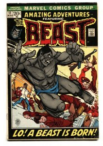 Amazing Adventures #11-1972 marvel First furry beast x-men