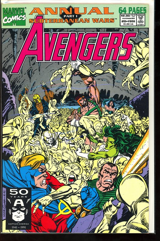 The Avengers Annual (GB) #20 (1991)