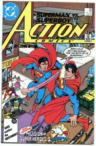 Action Comics 591 Aug 1987 NM- (9.2)
