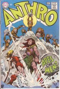 ANTHRO (1968) 2 VG-F  Sep.-Oct. 1968 COMICS BOOK