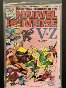 The Official Handbook of the Marvel Universe #12 (1983)
