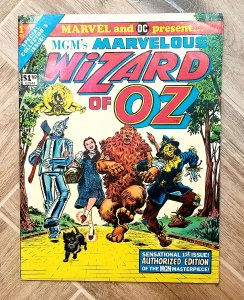 HIGH GRADE Marvelous Wizard Of Oz #1 VF 1975 VINTAGE Marvel DC Treasury Edition
