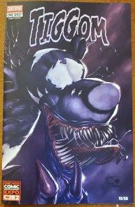 Tiggom One Shot Venom Parrillo Homage C2E2 Convention Exclusive Variant (Lmt 50)