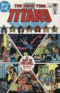 New Teen Titans, The (1st Series) #8 FN; DC | save on shipping - details inside