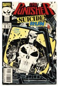 Punisher #87 1993 Suicide Run story-comic book