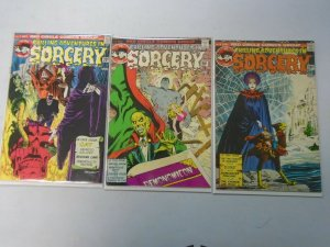 Chilling Adventures in Sorcery lot 3 different #3,4,5 avg 5.0 VG FN (1973+74)