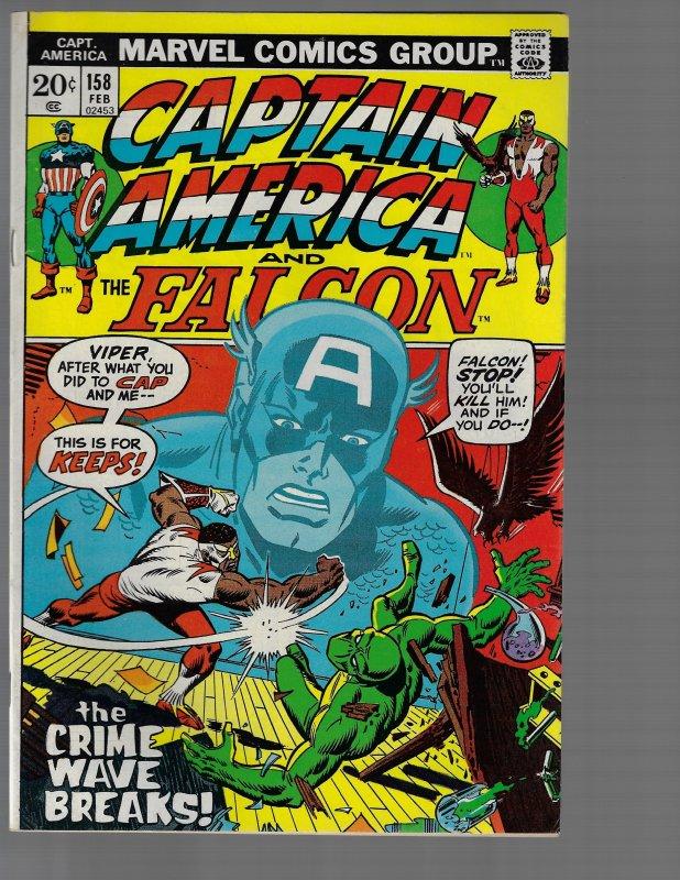 Captain America #158 (Marvel, 1973)