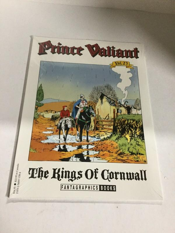 Prince Valiant Vol 23 The Kings Of Cornwall Oversized Softcover Fantagraphic B15