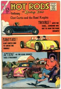 Hot Rods and Racing Cars #64 1963- Charlton Comics Impala Corvette