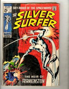 Silver Surfer # 7 VG- Marvel Comic Book Avengers Fantastic Four Galactus GK1
