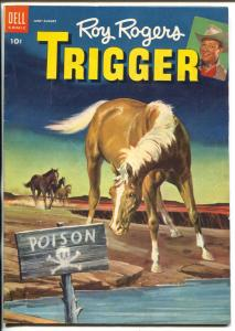 Roy Rogers' Trigger #9 1953-Dell-the famous movie palomino-FN