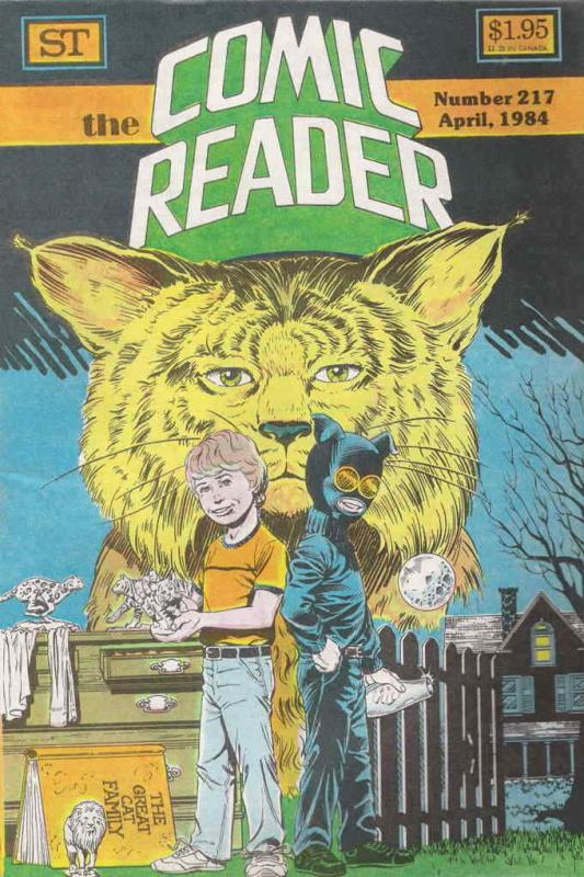 Comic Reader, The #217 VF/NM; Street Enterprises   save on shipping - details in