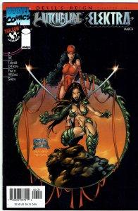 Witchblade Elektra #1 Joe Benitez Variant Michael Turner David Finch NM-