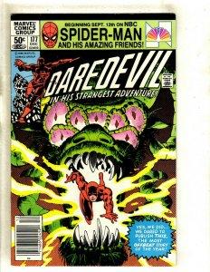 Daredevil # 177 VF Marvel Comic Book Frank Miller Elektra Bullseye Hand HJ9