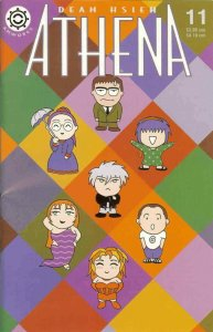 Athena #11 VF/NM; Antarctic | save on shipping - details inside