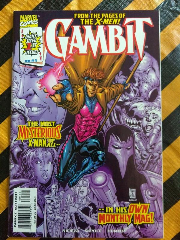 Gambit #1 (vol. 3, 1999) Skorce art Nicieza story