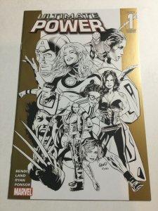 Ultimate Power 1 Land Variant Nm Near Mint Marvel Comics