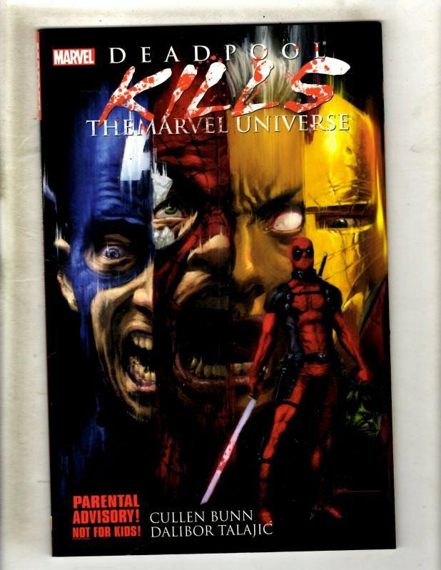 Deadpool Kills The Marvel Universe Comics Tpb Graphic Novel Comic