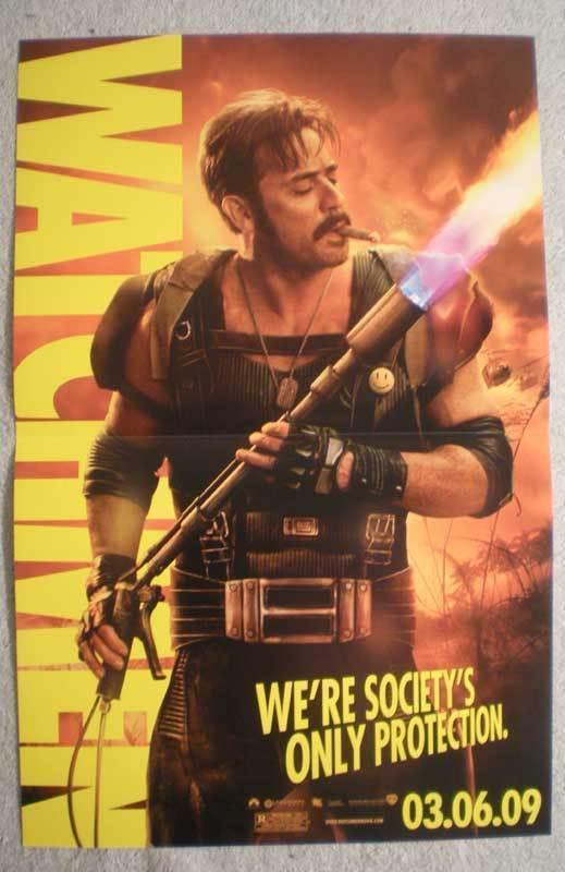 WATCHMEN Promo Poster, Movie,  11x17, 2009, Unused, more Promos in store, JKR