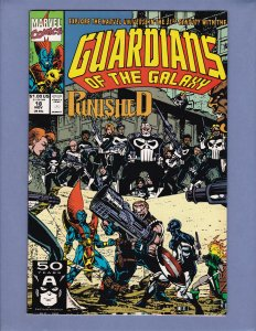 Guardians of the Galaxy #18 NM- Front/Back Cover Scans Marvel 1991