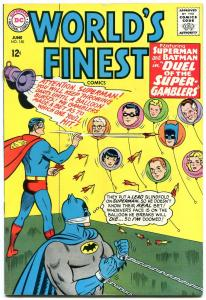 WORLDS FINEST #150 1965-DC COMICS-BATMAN-SUPERMAN VG