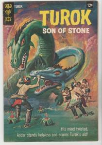 Turok Son of Stone #62 (Jul-68) VF High-Grade Turok, Andar