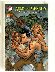 Lot of 8 Comics Army of Darkness Ashes 2 Ashes 1 2 3 4 +MORE HY3