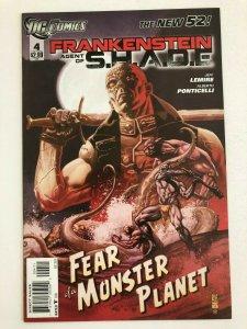FRANKENSTEIN AGENT OF S.H.A.D.E. #4 The New 52 DC Comics 2011 NM