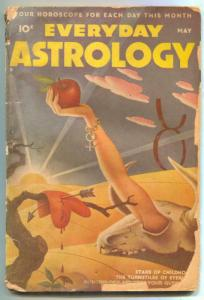 Everyday Astrology Pulp May 1945- SCHOMBURG COVER low grade