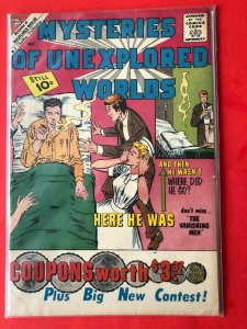 MYSTERIES OF UNEXPLORED WORLDS V1 #24 1961 / DITKO-PRE AMAZING FANTASY-FN