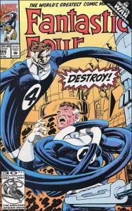 Marvel FANTASTIC FOUR (1961 Series) #366 NM-
