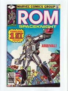 ROM #1 Spaceknight 1st Appearance Marvel Comics 1979 NM