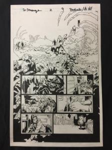 Doctor Strange #2 Page 9 Original Comic Art 2015- Al Vey Chris Bachalo