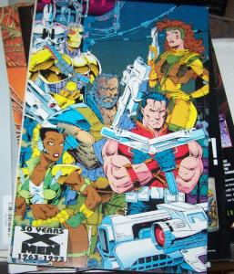 Cable #1 (May 1993, Marvel) xmen mutant nate gray GOLD FOIL COVER