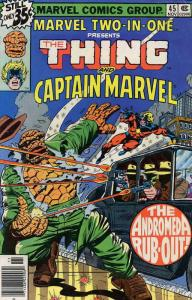 Marvel Two-In-One #45 FN; Marvel | save on shipping - details inside