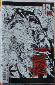 Venom #25 NM MARK BAGLEY - 1st App of Virus  B & W sketch cover