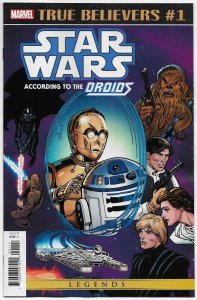 True Believers Star Wars According To Droids #1 Reprints Issue #6 (Marvel) NM
