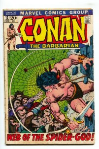 Conan The Barbarian #13 comic book 1972-  Barry Smith -Robert E Howard G