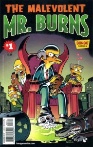 Malevolent MR BURNS #1, NM, Simpsons, Bart, 2013, more Bongo in store