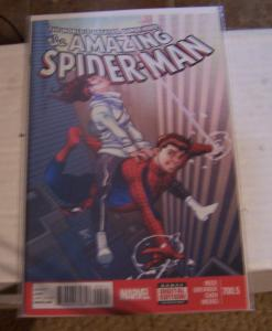 Amazing Spider-Man # 700.5  + high grade peter parker